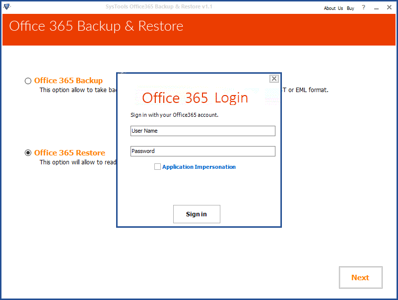 Office 365 Restore to Import Multiple PST Files into Office 365